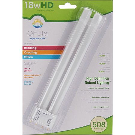 Ott-Lite TrueColor Replacement Bulb, 18 (Best Ottlite Light Bulbs)