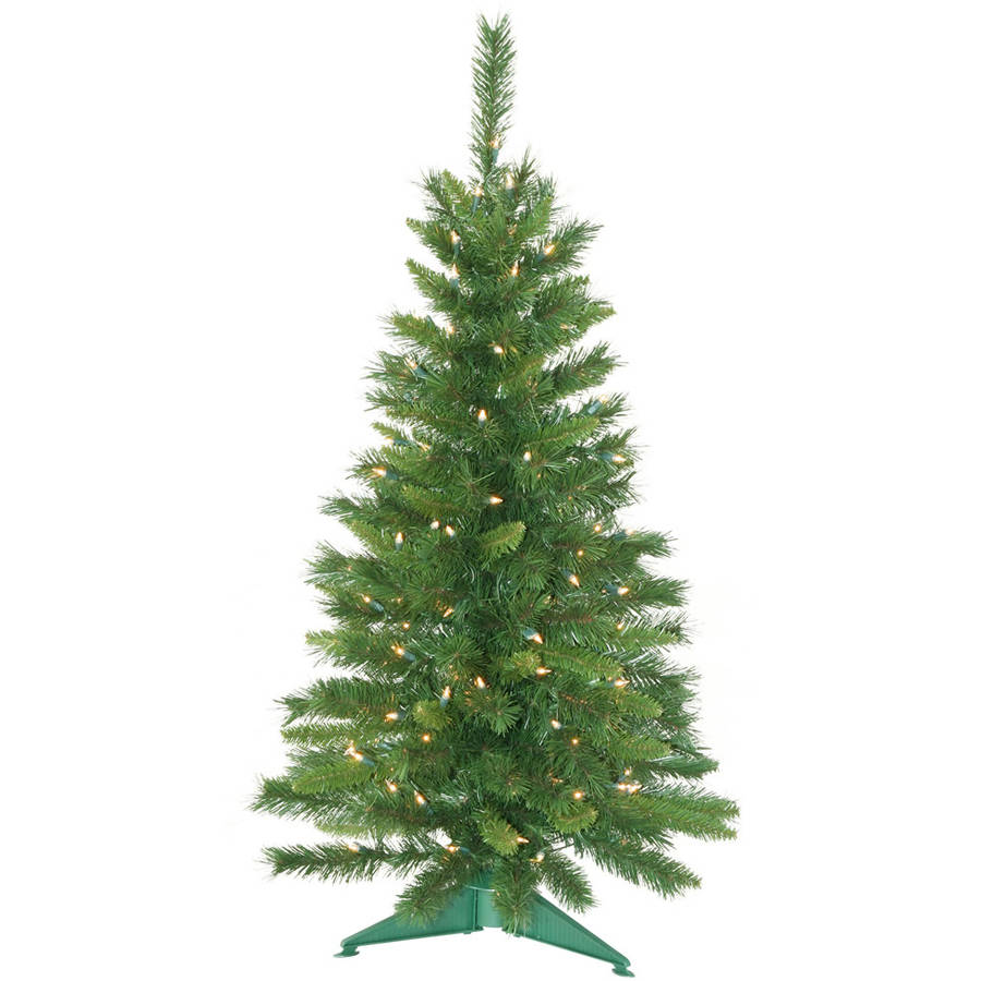 Vickerman Pre-Lit 3.5' Imperial Artificial Christmas Tree, Clear Lights
