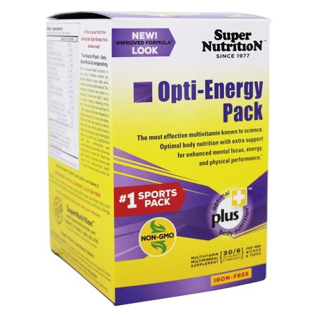Super Nutrition - Opti-Energy Pack Iron Free - 30 Packet(s) ()