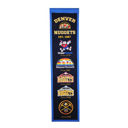 Winning Streak - NBA Heritage Banner, Denver (Denver Nuggets Framed Wall)