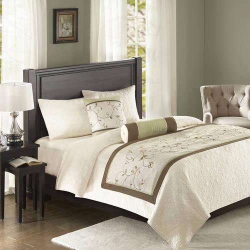 Home Essence Monroe Bedscarf and Pillow Set