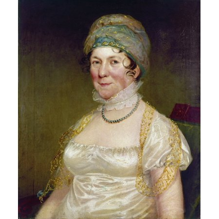 Dolley Payne Todd Madison N 1768 1849  Wife Of President James Madison Oil On Canvas By Ezra Ames Poster Print By Granger Collection