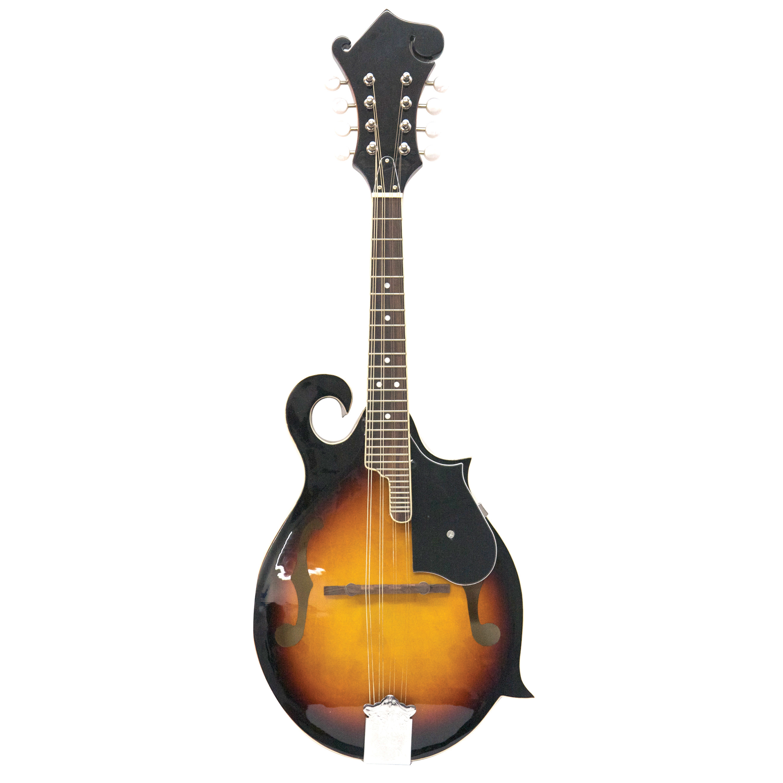 Kona KMF10 Traditional Florentine Style Mandolin With f-Shaped Sound Holes by Kona Guitars