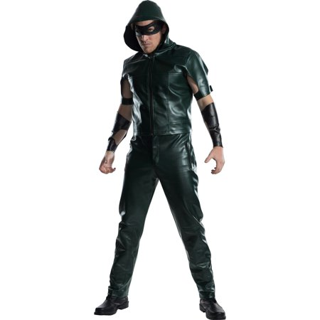 Green Army Men Costume (Mens Green Arrow Halloween)