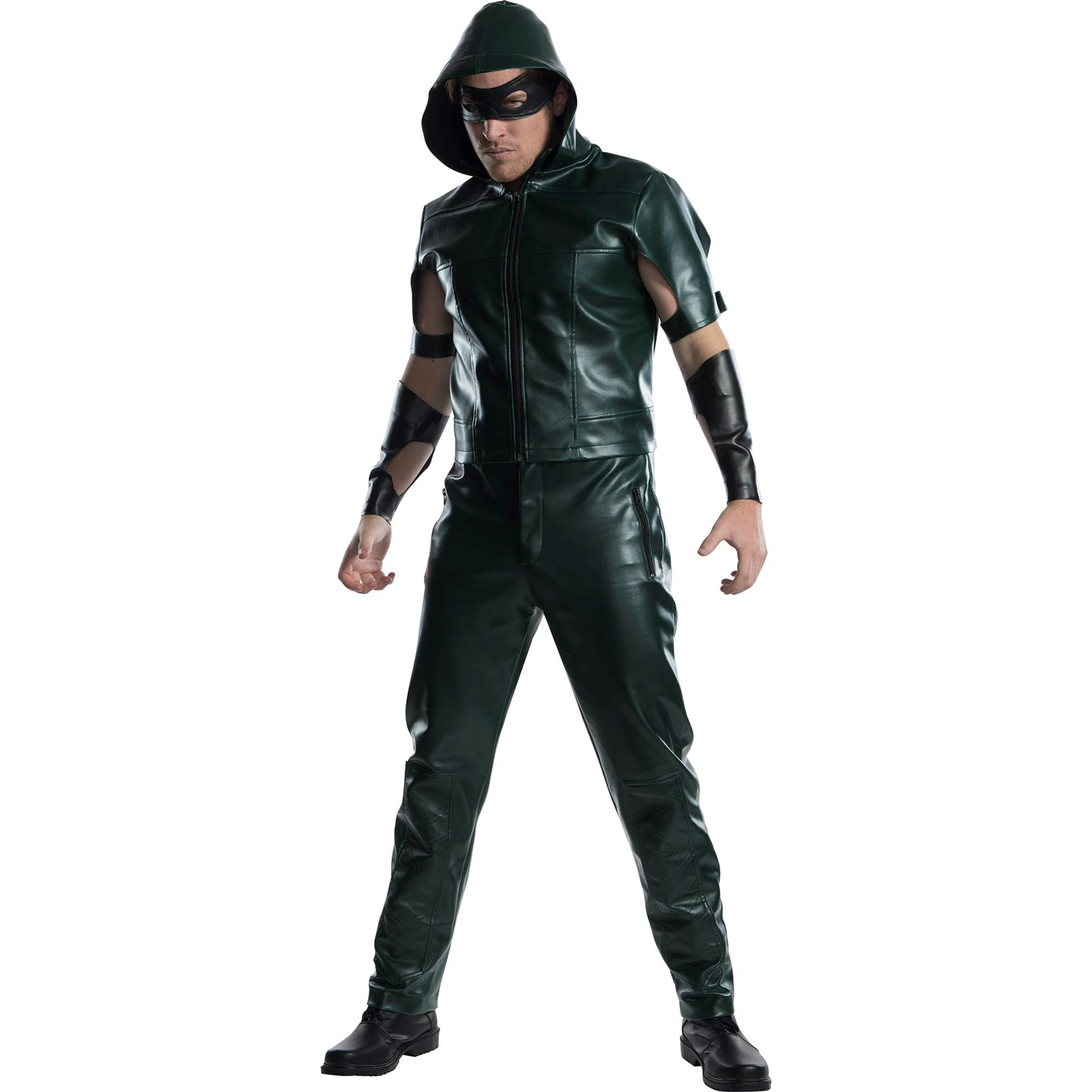 Mens Green Arrow Halloween Costume