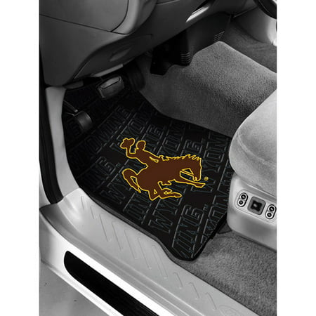 Ncaa  Wyoming Floor Mats   Set Of 2