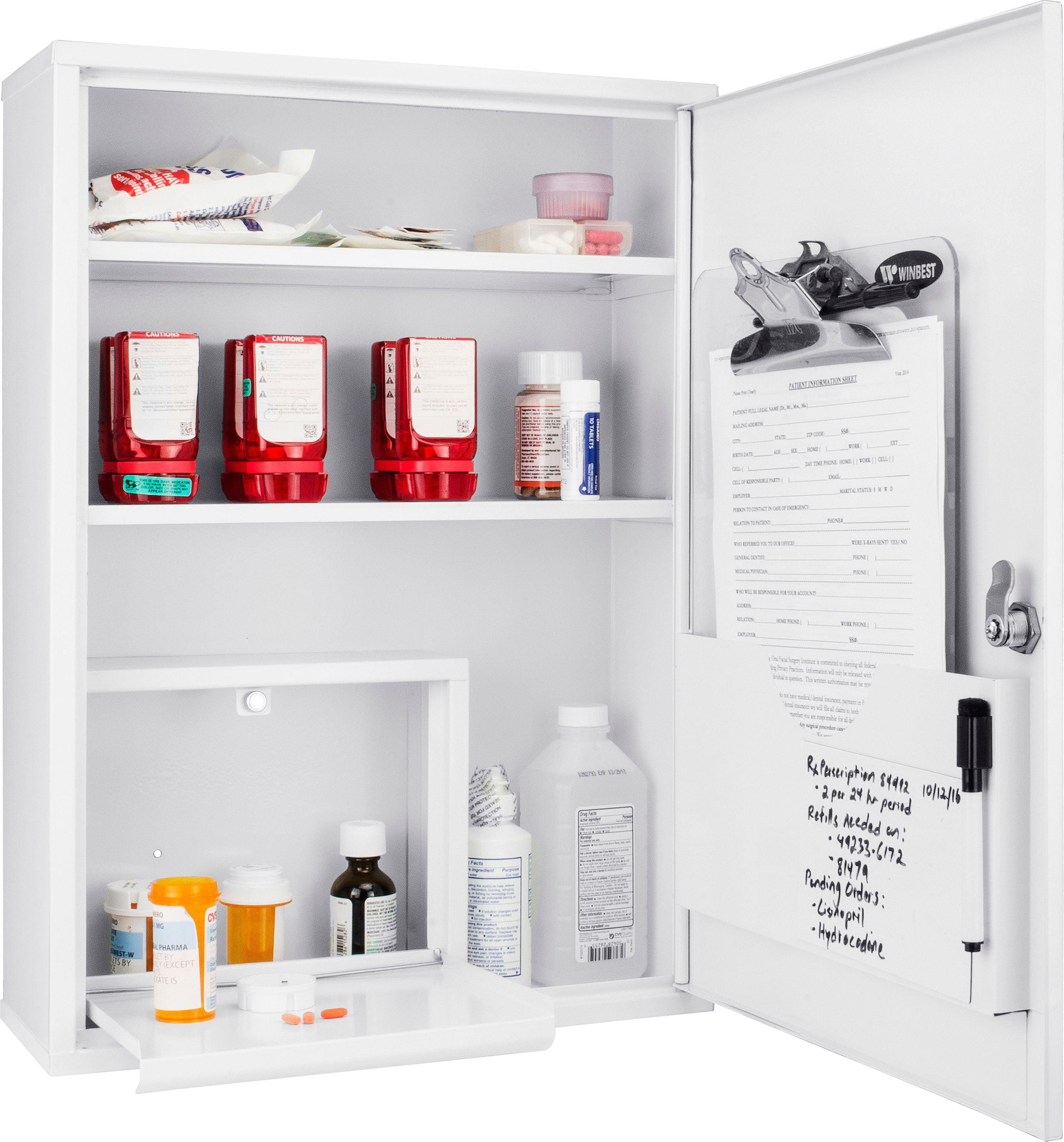 Medicine Cabinet, Large by Barska