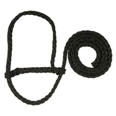 Weaver Leather Poly Rope Sheep Halter, Black