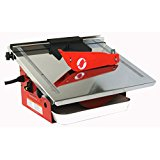 TruePower 01-0856 Bench Top Wet Cutting Tile / Marble Saw / Cutting Machine with Blade, 7-Inch