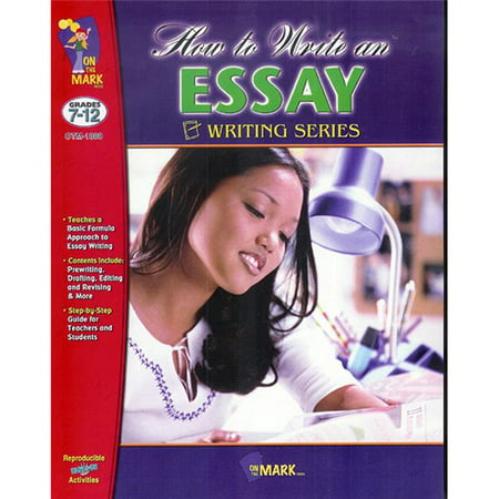 On the Mark Press OTM1808BN 2 Each How to Write An Essay Writing Serirs Book - image 1 de 1
