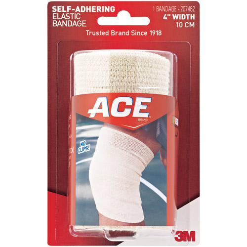 ACE Self-Adhering Elastic Bandage 207462, 4 in, 207462