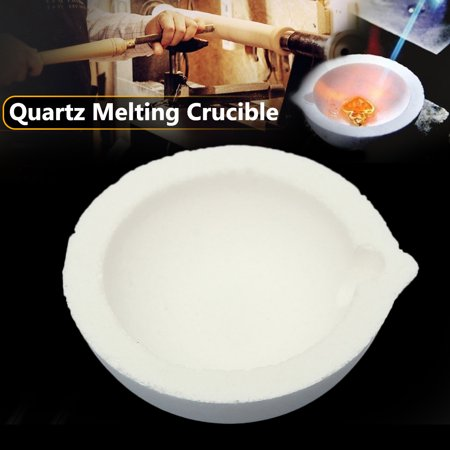 Quartz Melting Point - Quartz Melting Casting Crucible Pot For Gold Silver Platinum Refining 150g