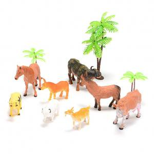 Farm Animal Figure Toys Animal Action Figure Set Kids Animal Toys (8-Piece)