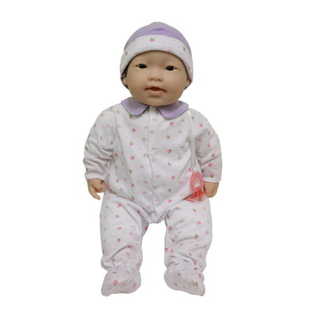 JC Toys, La Baby 20-inch Asian Washable Soft Baby Doll with Baby Doll Accessories, Designed by (Asian Play Dolls)