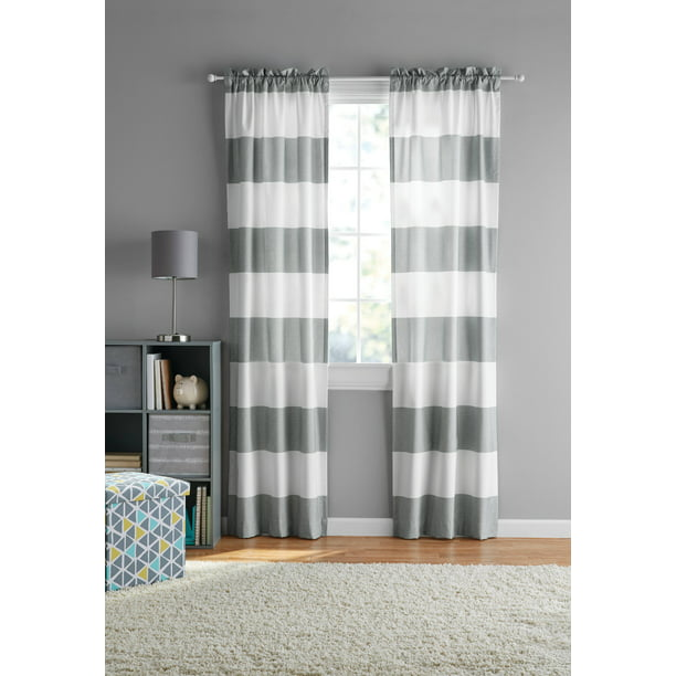 Your Zone Cabana Stripe Curtain Panel