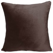 Pure Color Decorative Throw Pillow Case Cushion Cover  18''x18'' Pillowcase Pillowslip Protector Sham for Home Bedroom Couch Sofa Bed Patio Chair