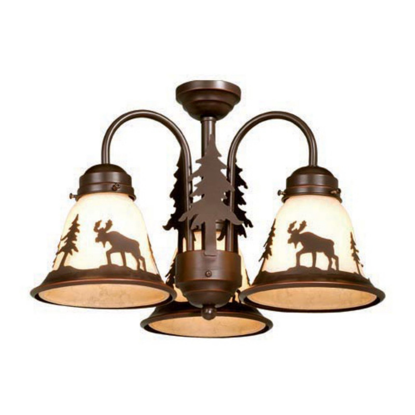 Image of AireRyder LK55616BBZ-C Yellowstone Light Kit - Burnished Bronze