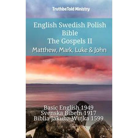 English swedish polish bible the gospels ii matthew mark luke english swedish polish bible the gospels ii matthew mark luke john fandeluxe Gallery