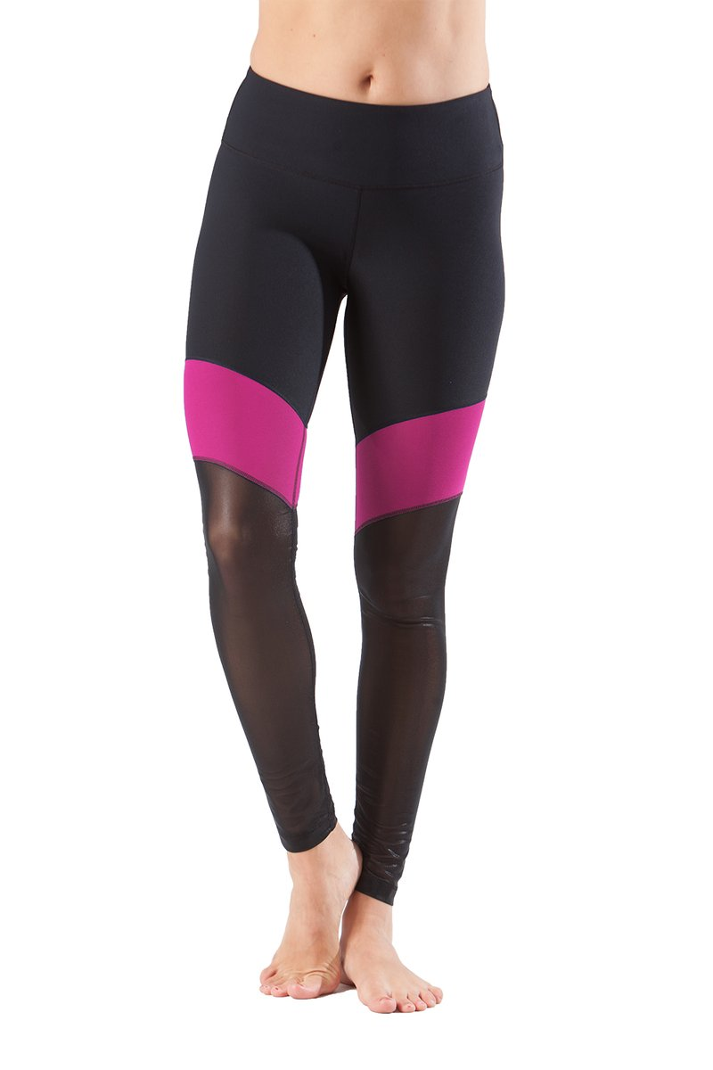 90 Degree By Reflex - Tri Color Legging