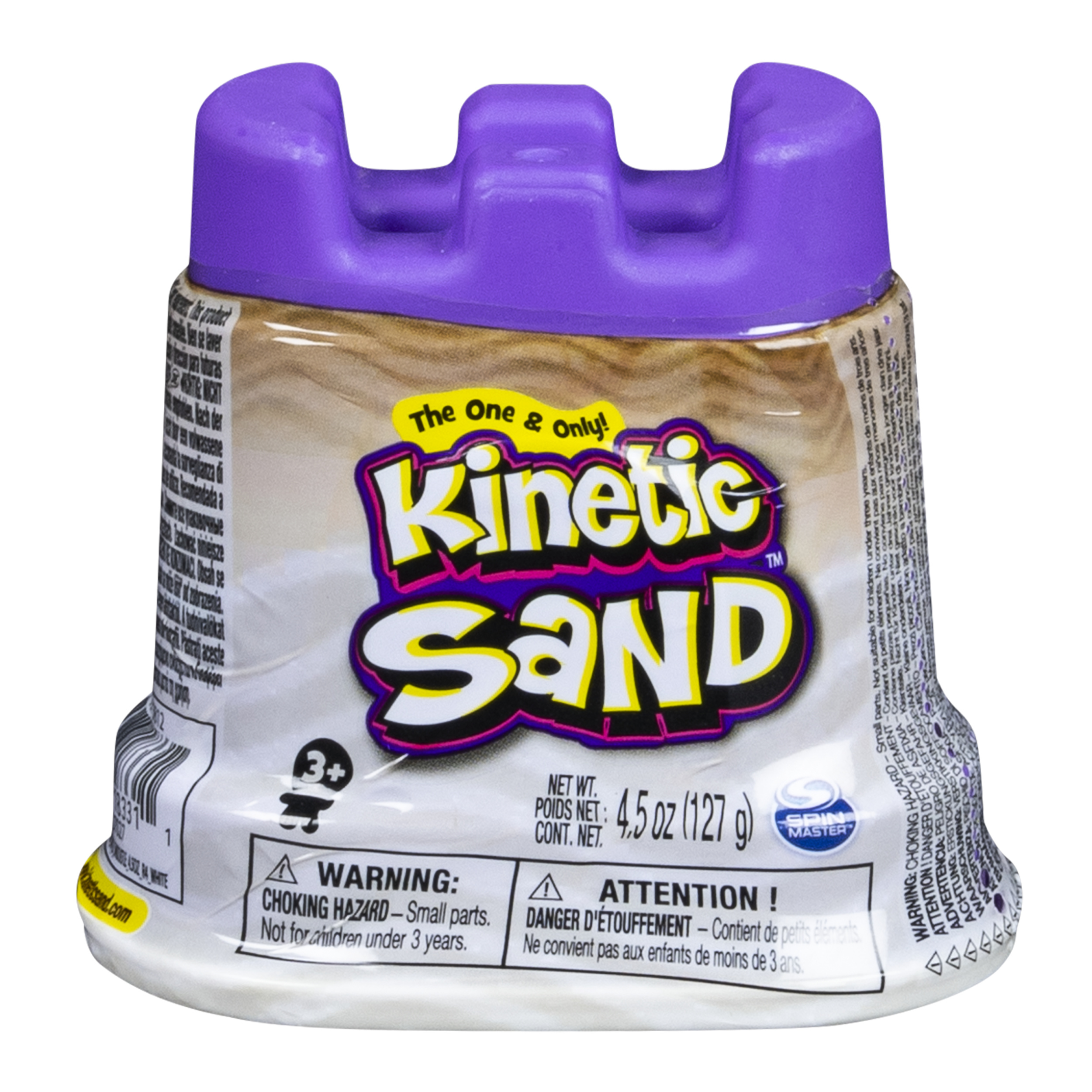 Kinetic Sand - Single Container - 4.5 oz - White