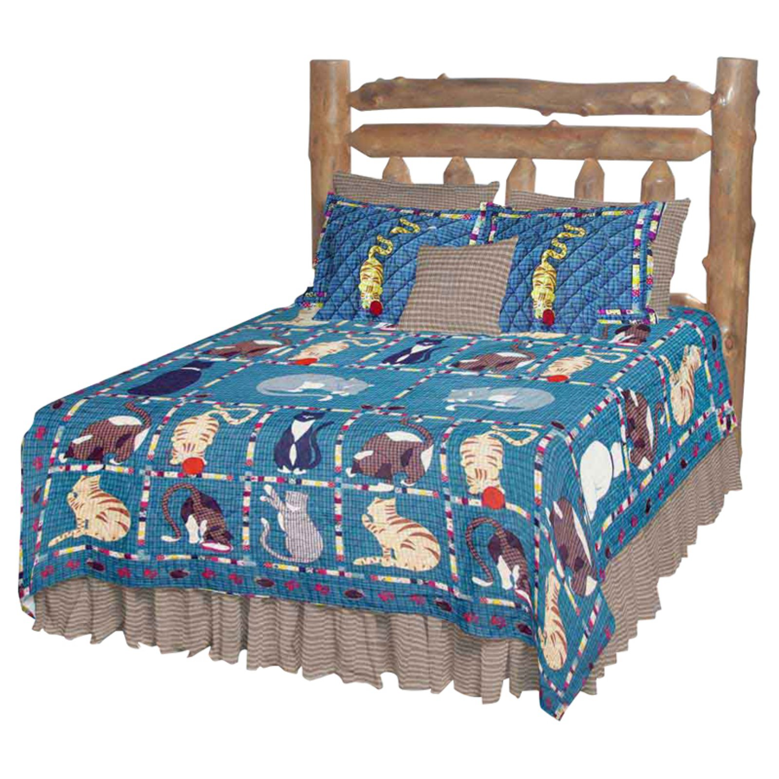 Patch Magic QTKTCT Kitty Cats, Quilt Twin 65 x 85 inch