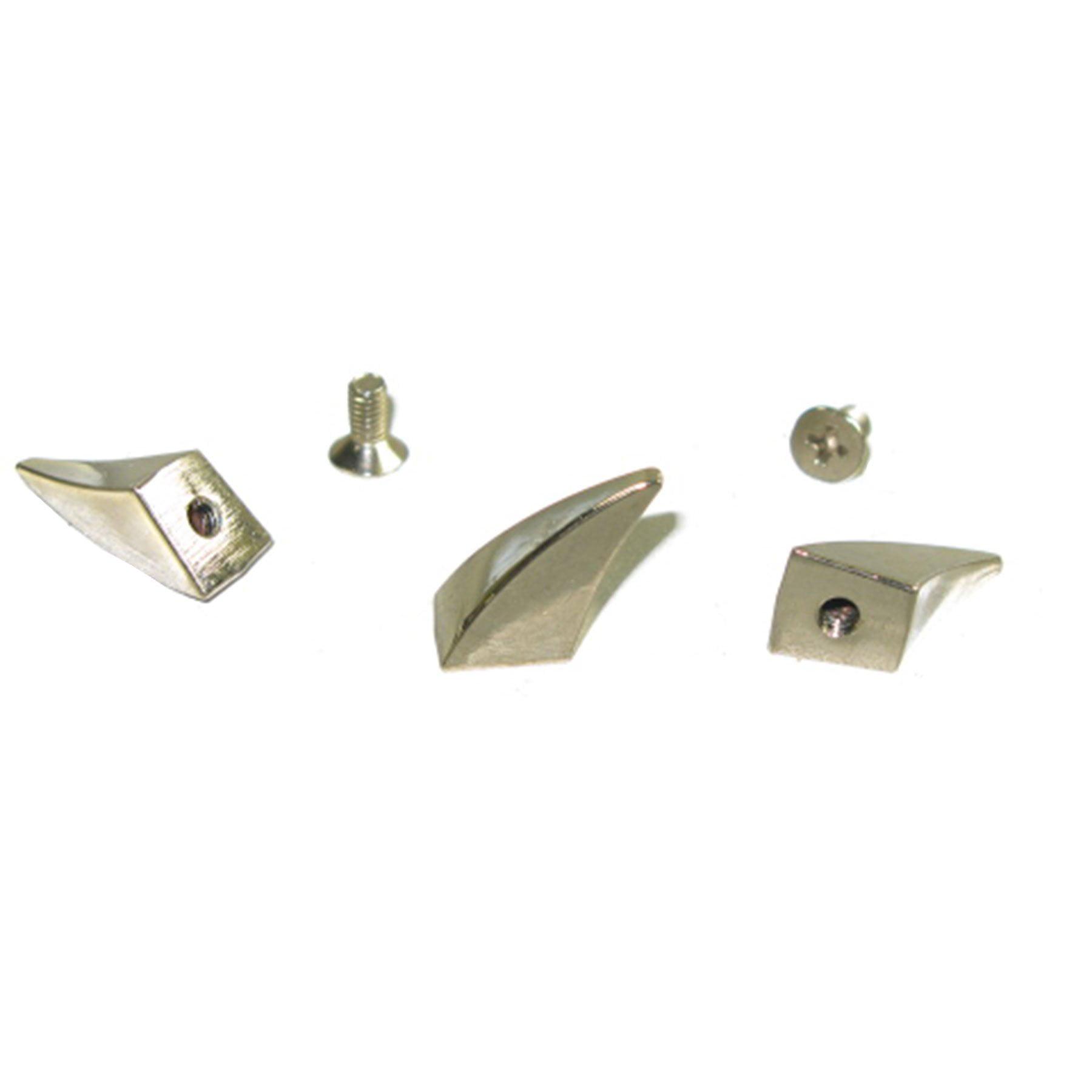 Claw Spike Nickel Studs Screwback Attachment Leathercraft Metal Spot - 2 Sizes - image 1 de 1