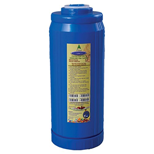 Crystal Quest CQE-RC-04104 5 x 10 in. Coconut Shell Granular Activated Carbon GAC Filter Cartrdige