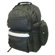 K-Cliffs Polyester Backpack - 19 x 13 x 8 in. Black