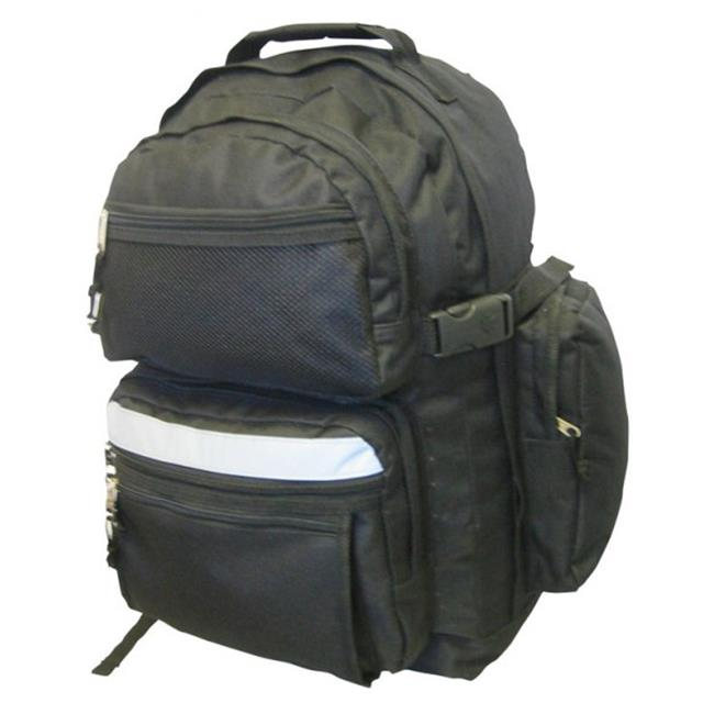 K-Cliffs Polyester Backpack - 19 x 13 x 8 in. Olive Green
