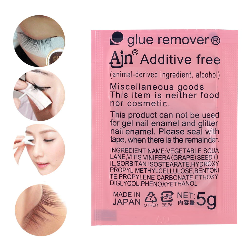 238e5e8cd89 ANGGREK Eyelash Extension Remover Cream, Eyelash Adhesive Remover Cream,5g Eyelash  Extension Remover Cream Glue Gel Removing Professional False Eyelashes ...