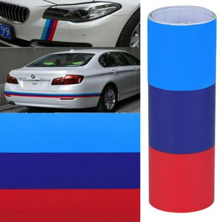 DIY For BMW Flag Auto Waist Line Hood Sicker Decal Vinyl Car Stickers 1M Country Flag Vinyl Decal Sticker