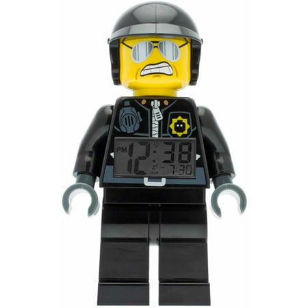LEGO Movie Bad Cop Kids' Minifigure Moveable Alarm Clock
