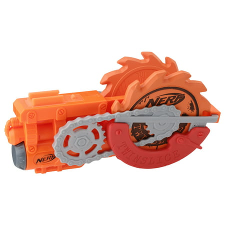 NERF Zombie Strike Survival Twinslice - 2 Foam Stars and Holder