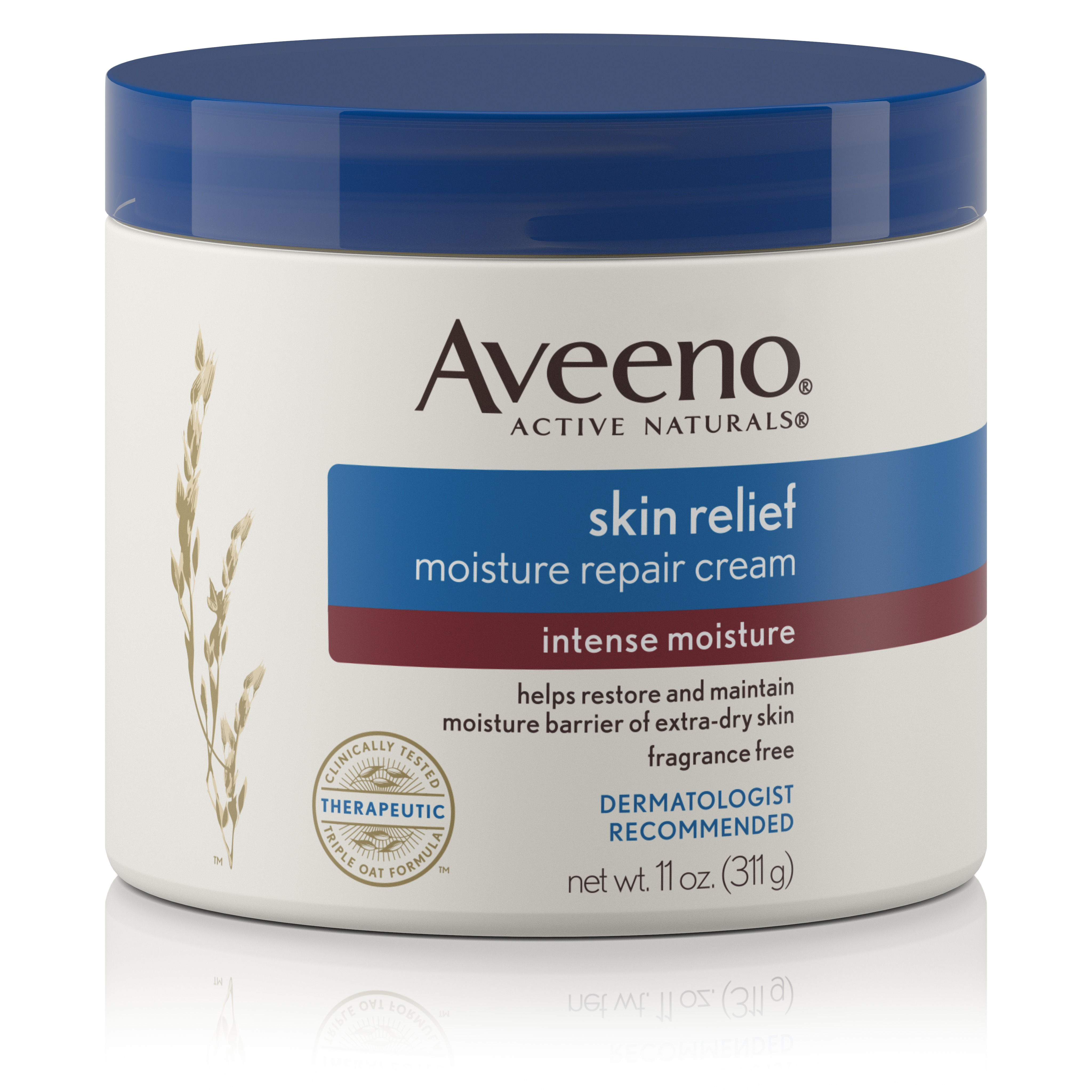 Aveeno Skin Relief Intense Moisture Repair Cream, 11 Oz - Walmart.com