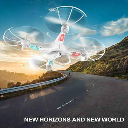 Outad Syma X5c 2 4G 6 Axes Gyro Rc Aircraft Quadcopter Drone Uav Rtf With 2Mp Camera White