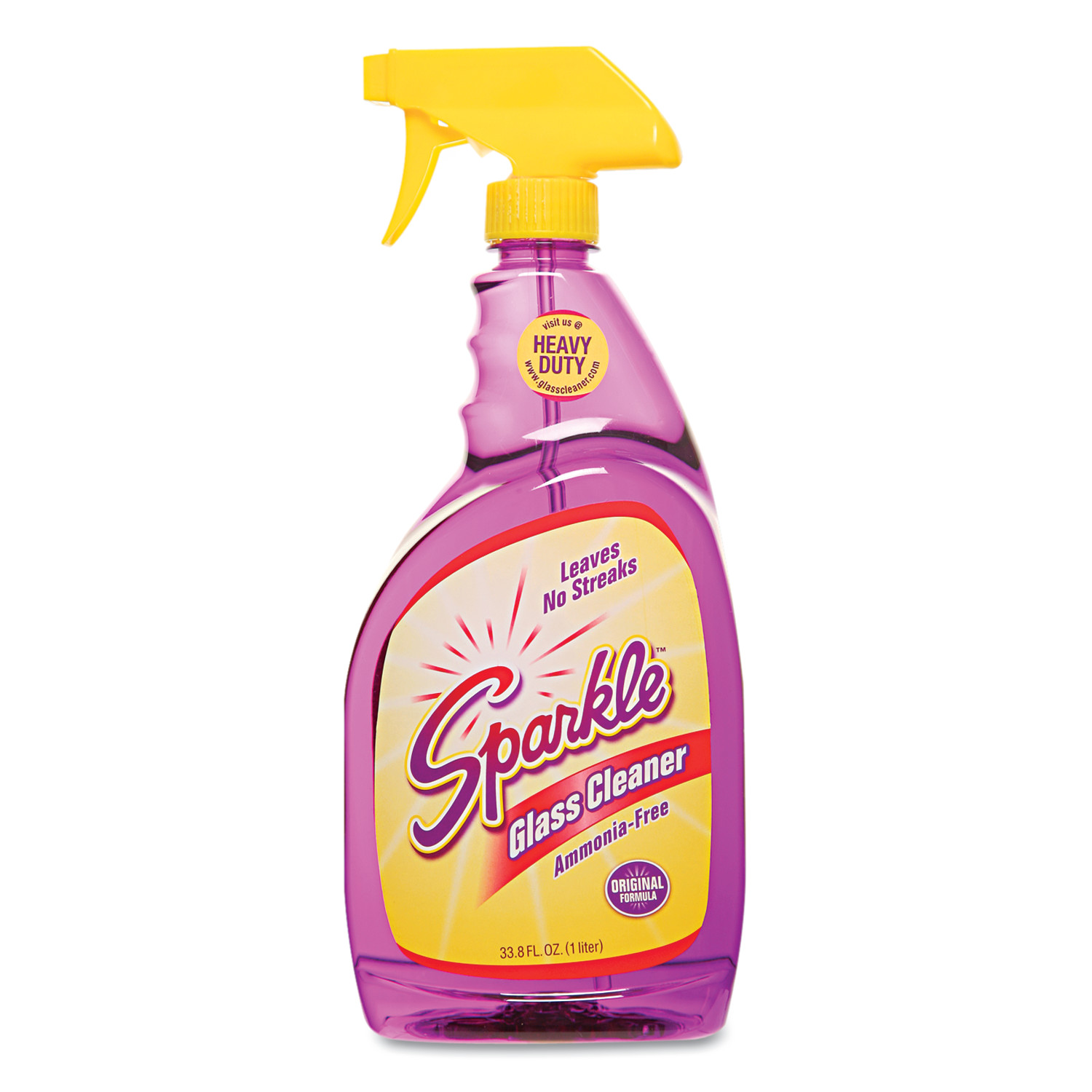 Sparkle Glass Cleaner, 33.8oz Spray Bottle