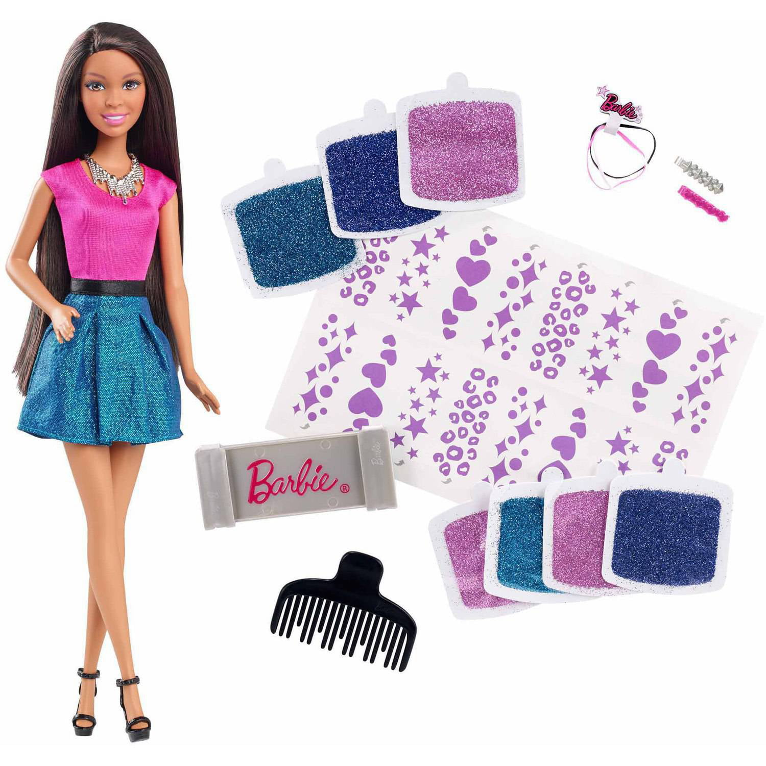 Barbie digital dress doll african american walmart