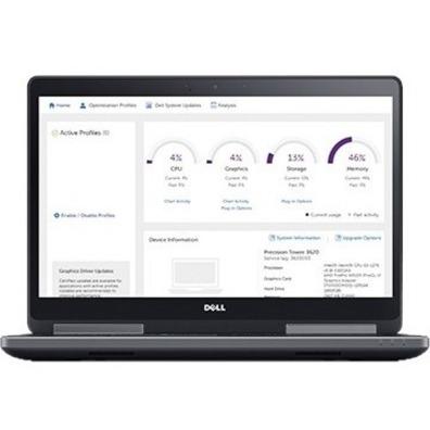 "Dell Precision 17.3"" Full HD Laptop, Intel Xeon E3-1505M v6, 32GB RAM, 1TB SSD, Windows 10 Pro"