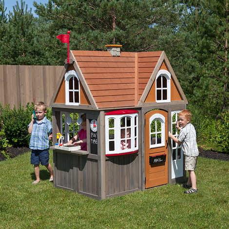 Cedar Summit Greystone Cottage Playhouse by