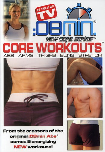 8 Minute Core Workouts: Abs Arms Thighs Buns & by BAYVIEW FILMS