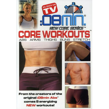 8 Minute Core Workouts: Abs Arms Thighs Buns & (DVD) (10 Minute Workout Dvd)