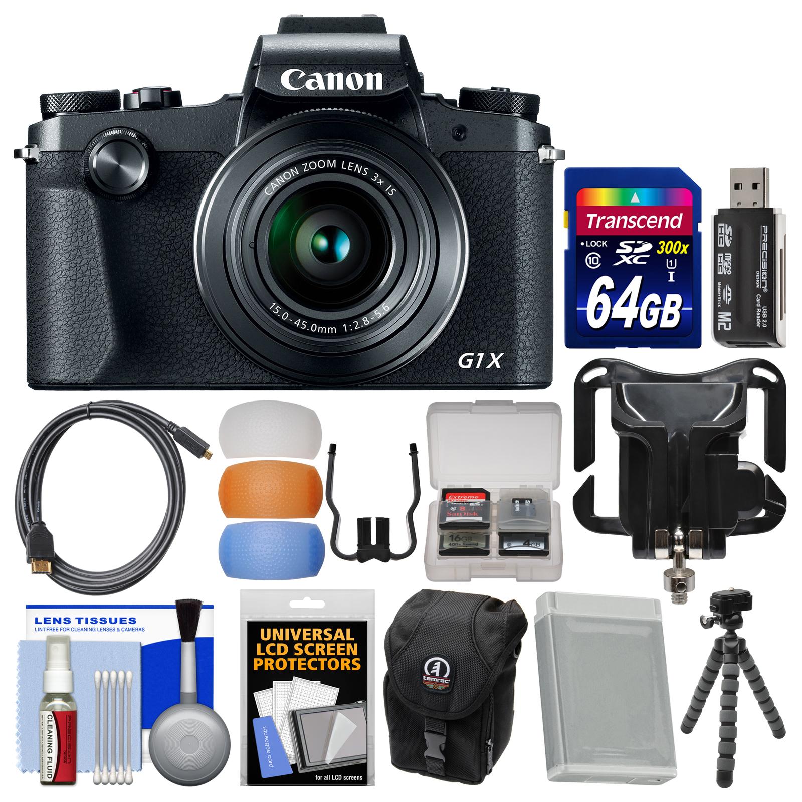 Canon PowerShot G1 X Mark III Wi-Fi Digital Camera with 6...
