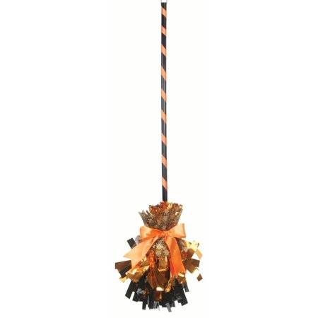 Women Fancy Shining Witch Halloween Broom, 32