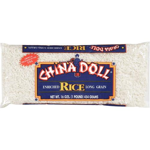 China Doll Enriched Long Grain Rice, 16 oz