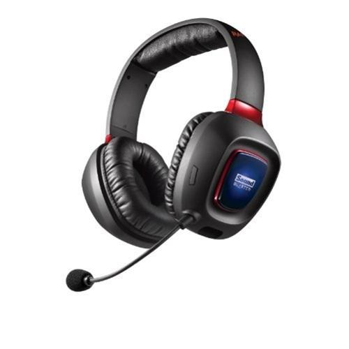 Sound Blaster Tactic3D Rage Wireless Headset - Black, Red
