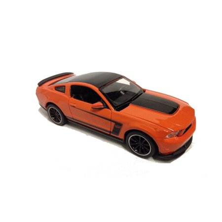 302 Mustang Engine - MAISTO 1:24 DISPLAY SPECIAL EDITION 2011 FORD MUSTANG BOSS 302 ORANGE 1 ITEM 34269 NO RETAIL BOX
