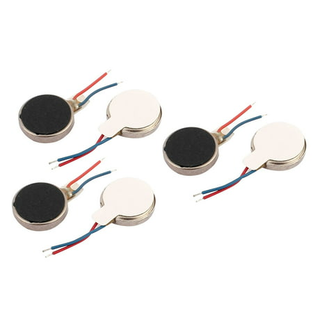 6Pcs DC3V 12000RPM Cell Phone Vibrating Motor Flat Coin  Vibration Motor