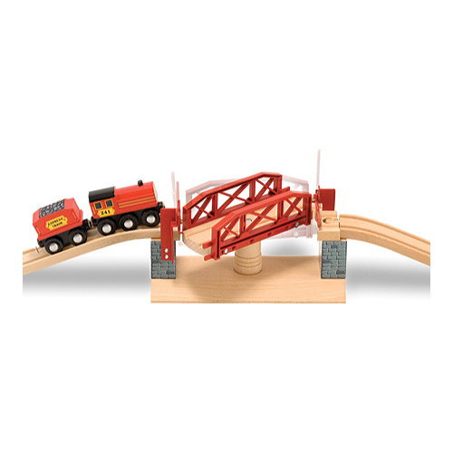 Children's Melissa & Doug Swivel Bridge Train Set by Melissa %26 Doug