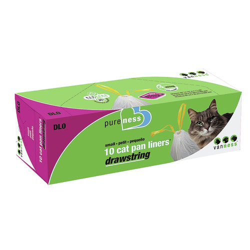 Pure-Ness Drawstring Cat Pan Liners