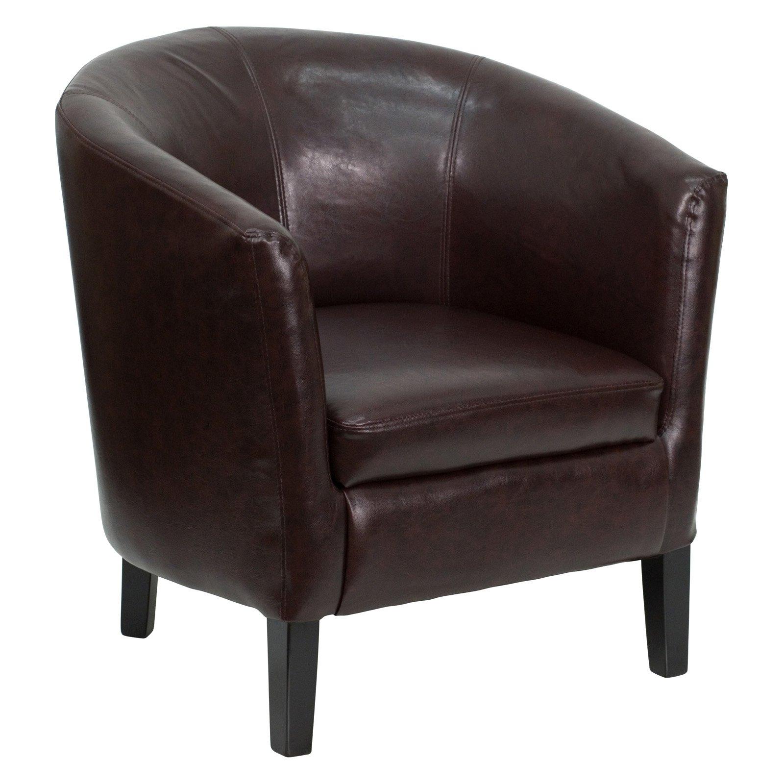 Flash Furniture Barrel Shaped Guest Chair